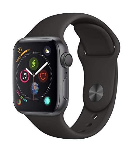 Montre connectée Apple Watch Series 4 - 40mm, Bracelet Sport Noir