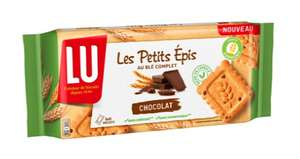 Biscuits Lu les Petits Epis : Chocolat / Nature / Figue Raisin et Abricot (via ODR)