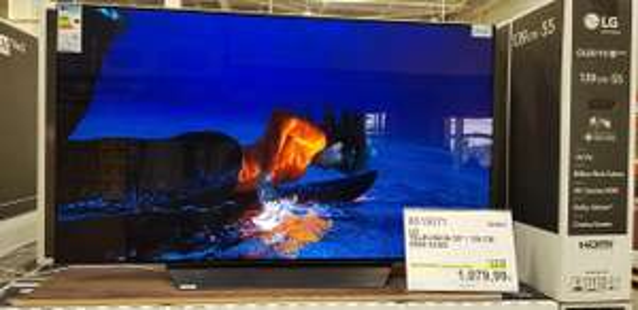 "[Carte CostCo] TV 55"" LG OLED 55B8 (4K UHD) - Villebon-sur-Yvette (91)"