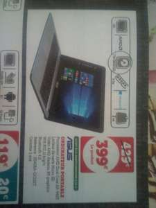 """Pc Portable 15.6"""" Asus - HD, A9-9425, SSD 128 Go, HDD 1 To, 4 Go RAM, Windows 10"""