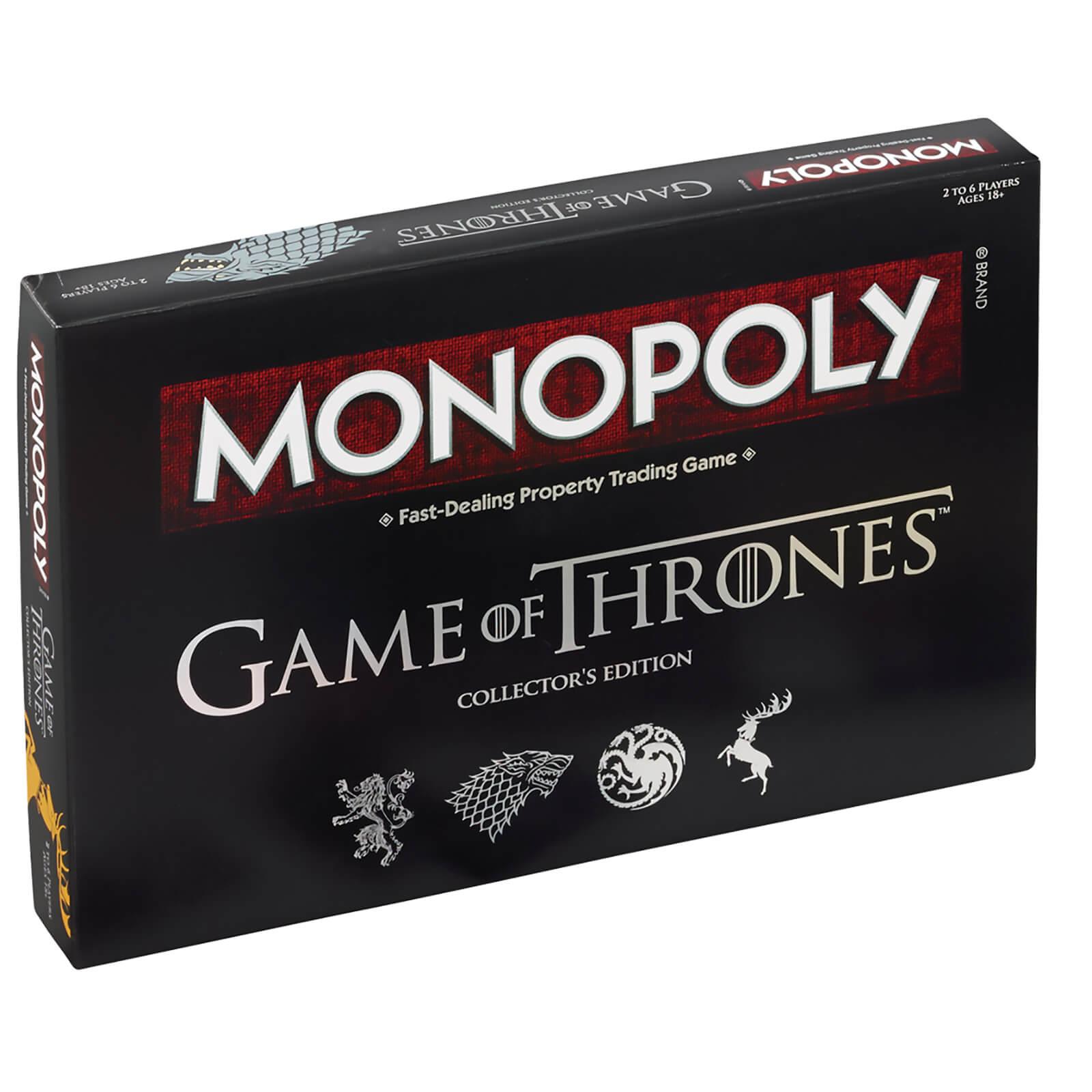 Jeu de société Game of Thrones Monopoly Deluxe Edition (Import UK)