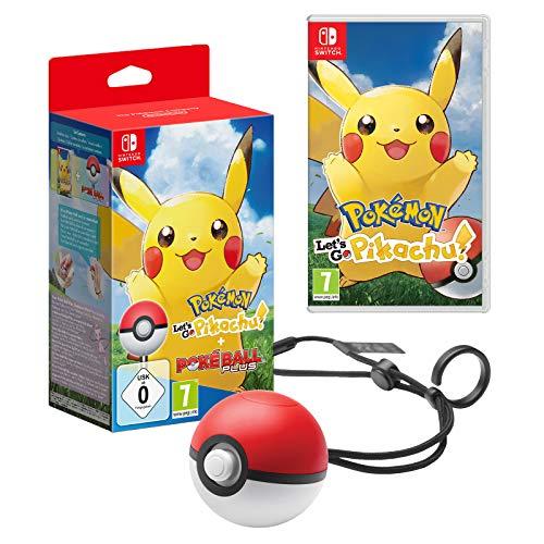 Pokémon Let's Go Pikachu! + Poké ball plus sur Nintendo Switch