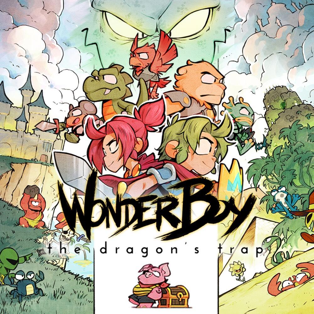 Wonder Boy: The Dragon's Trap sur PS4 (Dématérialisé)