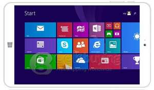 "Tablette 8"" Onda V820W - Ecran IPS, Quadcore, 2Go RAM, Dual Boot Win 8.1 / Android, 32Go + Office 365 inclus pendant 1 an"