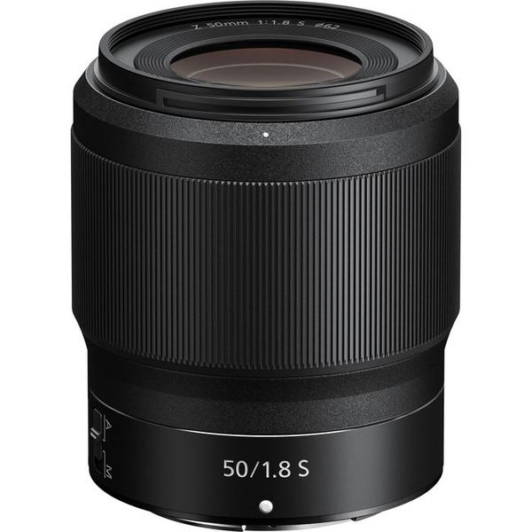 Objectif photo Nikon Nikkor Z 50 mm f/1.8 S - Monture Z, compatible avec les appareils photo Nikon Hybride