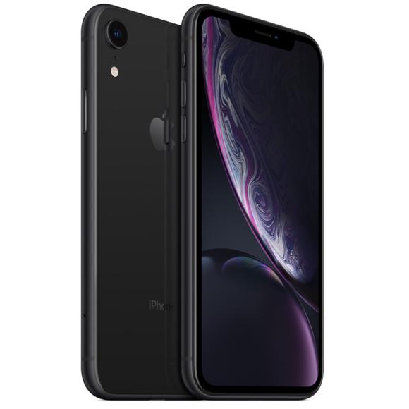 """Smartphone 6.1"""" Apple iPhone XR - 64 Go, Noir (Vendeur tiers)"""