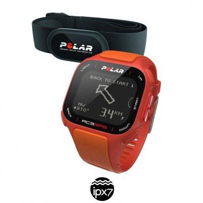 Montre Polar RC3 HR GPS/Cardiofréquencemètre avec ceinture cardiaque