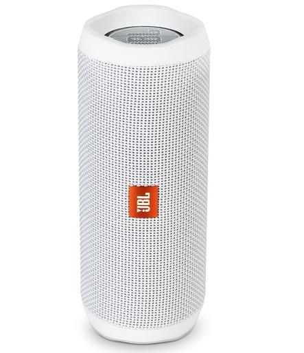 Enceinte sans-fil JBL Flip 4 - Bluetooth - Gris, Rouge ou Blanc (Reconditionné)