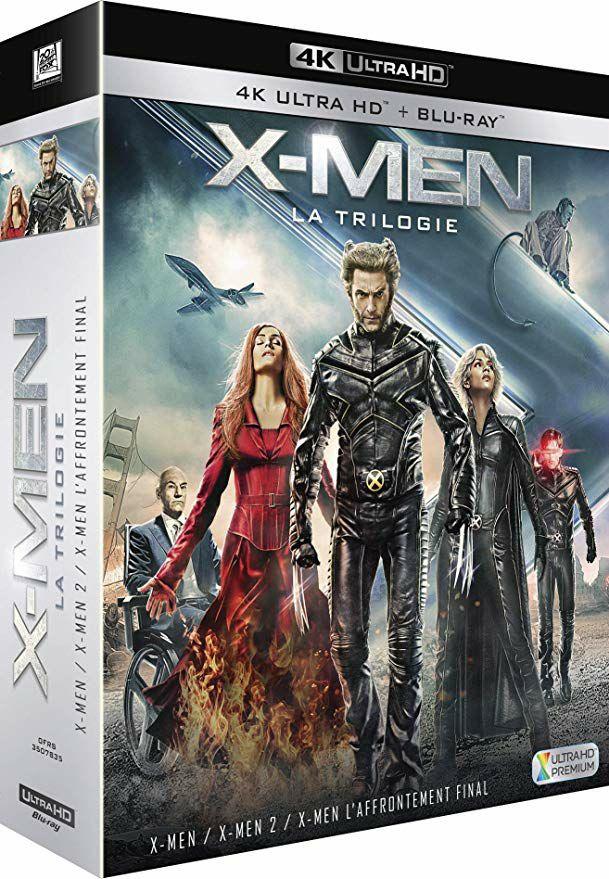 Blu-Ray X-Men - La Trilogie (4K Ultra HD + Blu-ray)