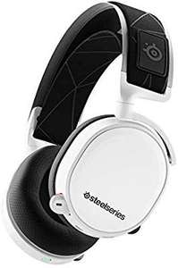 Micro-casque Gaming Steelseries Arctis 7 - Son Surround DTS Headphone:X v2.0, Blanc (Édition 2019)