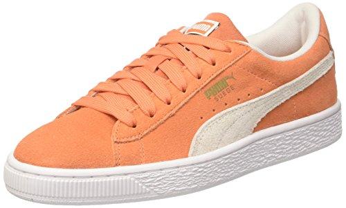 Sneakers basses mixtes enfant Puma Suede Classic Jr - Orange (Taille 37.5)