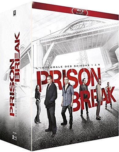 Coffret Blu-Ray Prison Break - L'intégrale des saisons 1 à 5