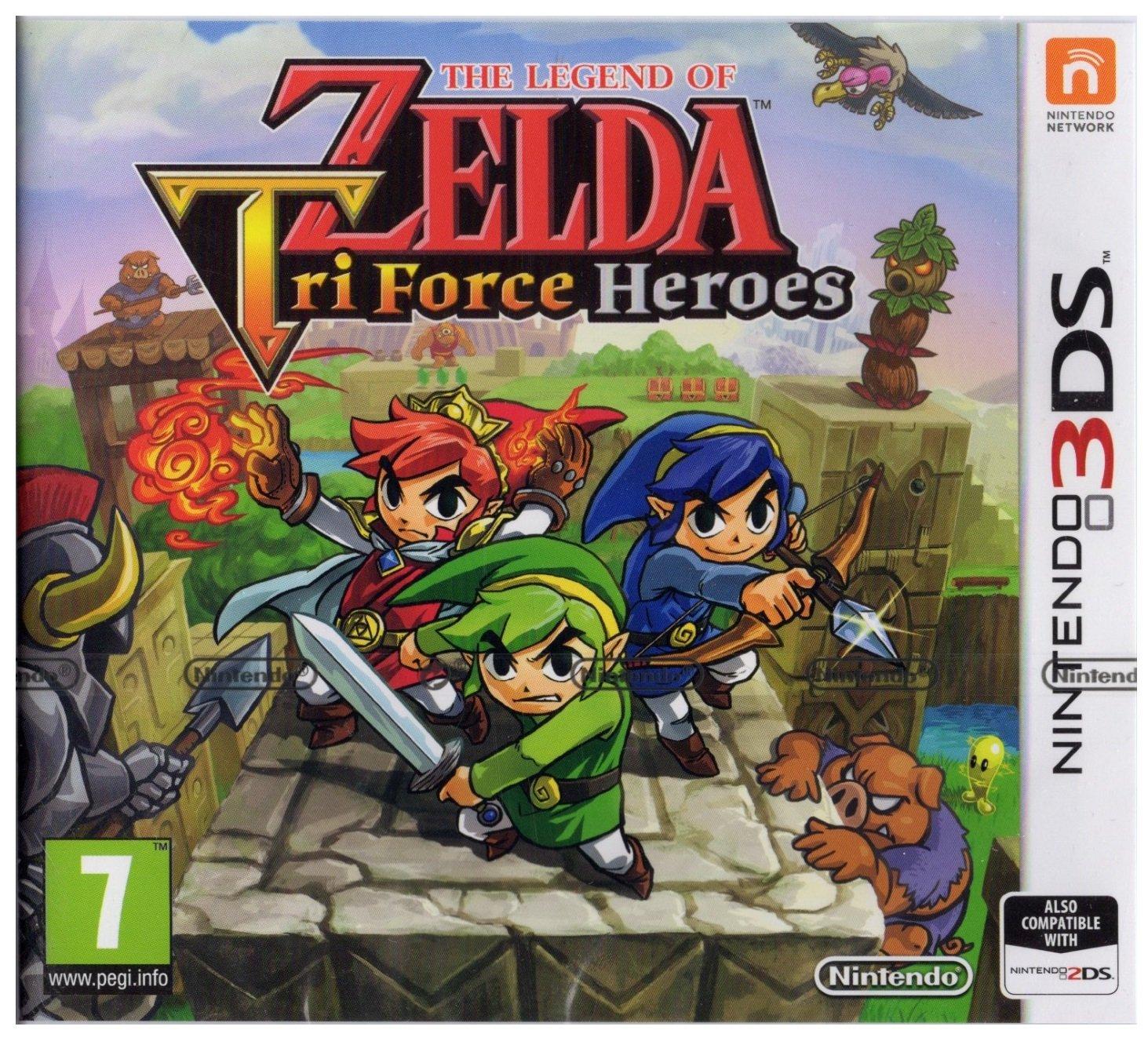 The Legend of Zelda Tri Force Heroes sur Nintendo 3DS
