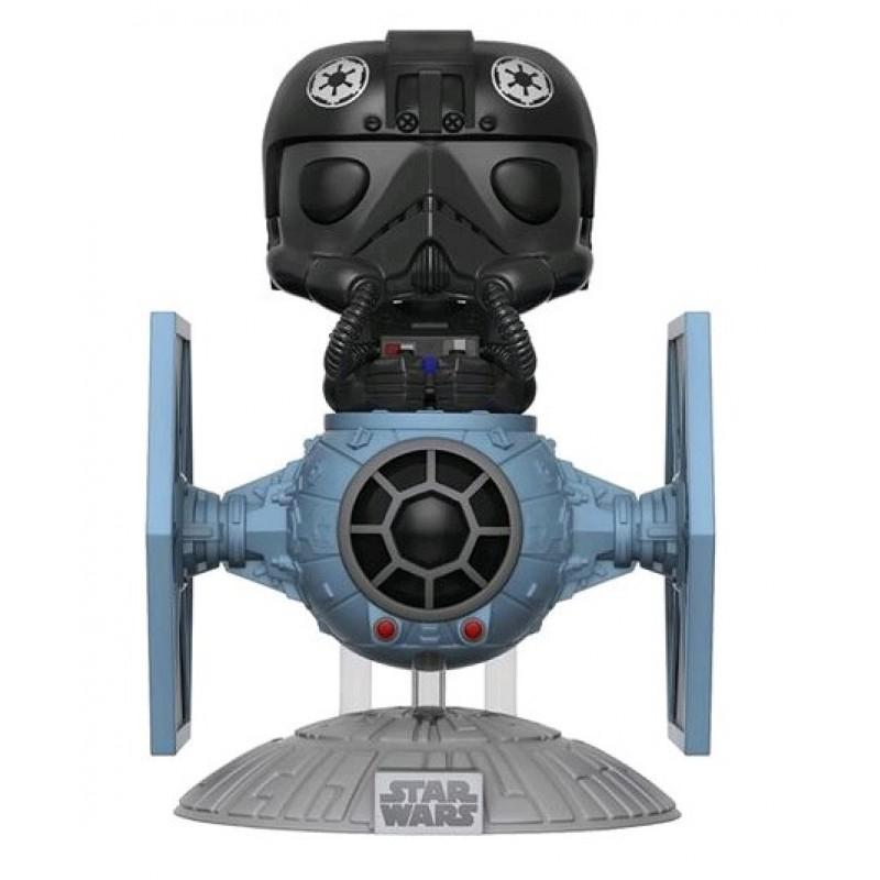 Figurine Toy Pop N°221 Star Wars: Tie Fighter avec pilote Deluxe