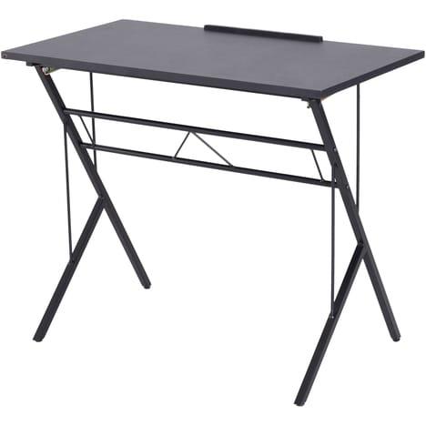 Table à dessin inclinable en métal Homcom - 90x50x76-91 cm