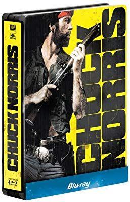 Coffret Blu-ray Steelbook Chuck Norris : Oeil pour oeil + Delta Force + Sale temps pour un flic + Portés disparus