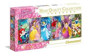 Puzzle 1000 pièces Clementoni Disney Panorama Collection - Princesses