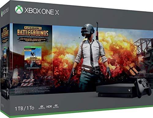 Console Microsoft Xbox One X + PUBG