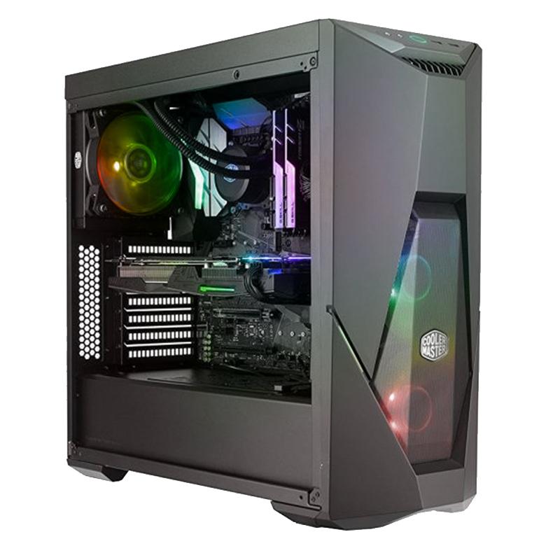 Tour PC Fixe Gamer Insurgent -  i5 9400F, RAM 16Go, 2To + SSD 500Go, RTX 2060 Ventus 6G OC (Sans OS)