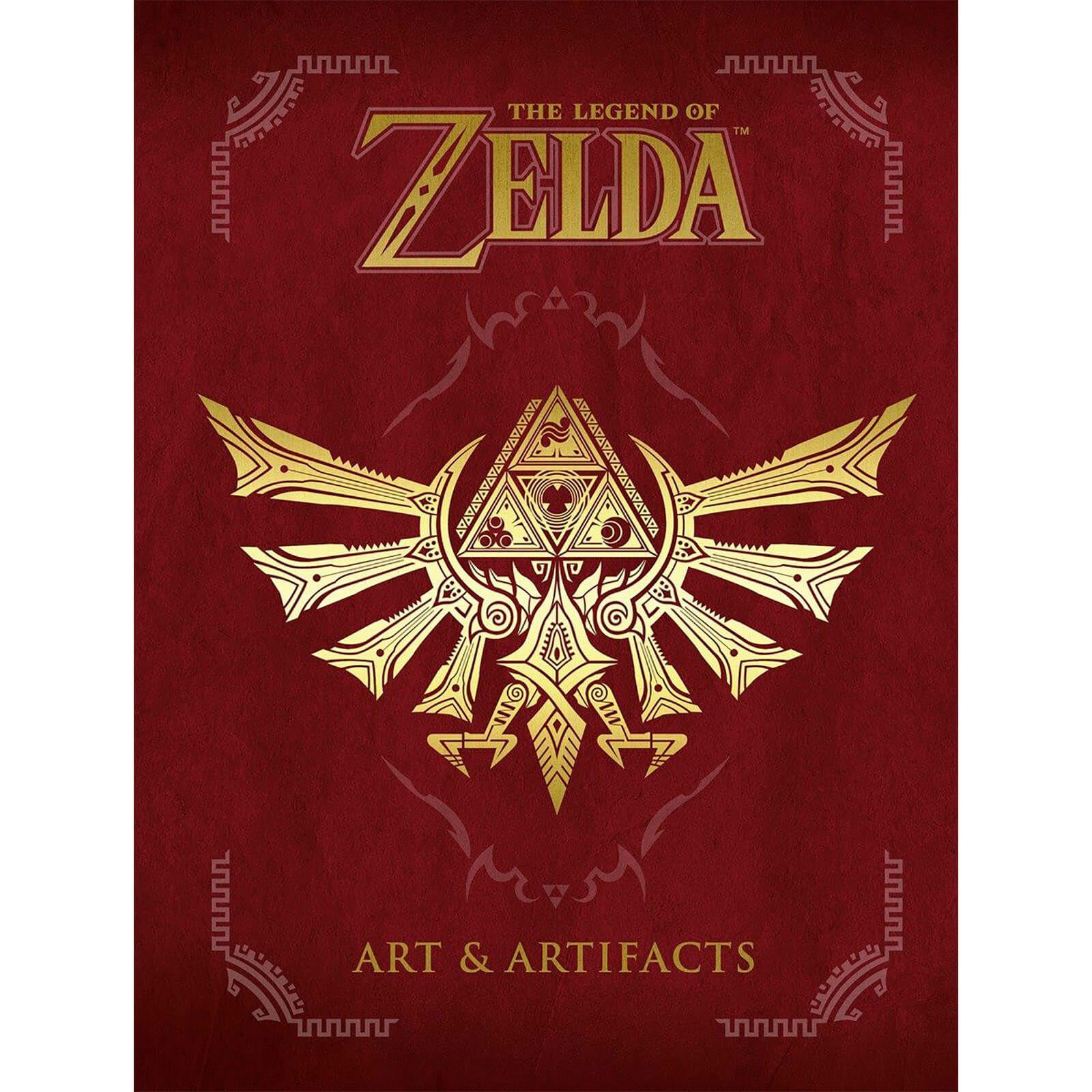 T-shirt Zelda + Livre The Legend of Zelda: Art & Artifacts (iwoot.com)