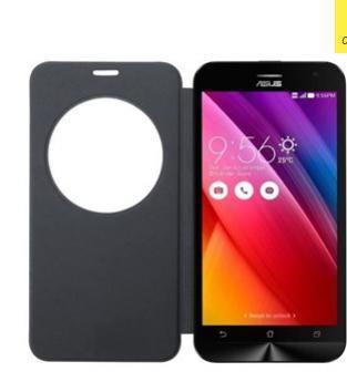 "Smartphone 5"" Asus Zenfone 2 ZE500KL 8 Go 4G Noir double Sim + Asus Etui folio noir"