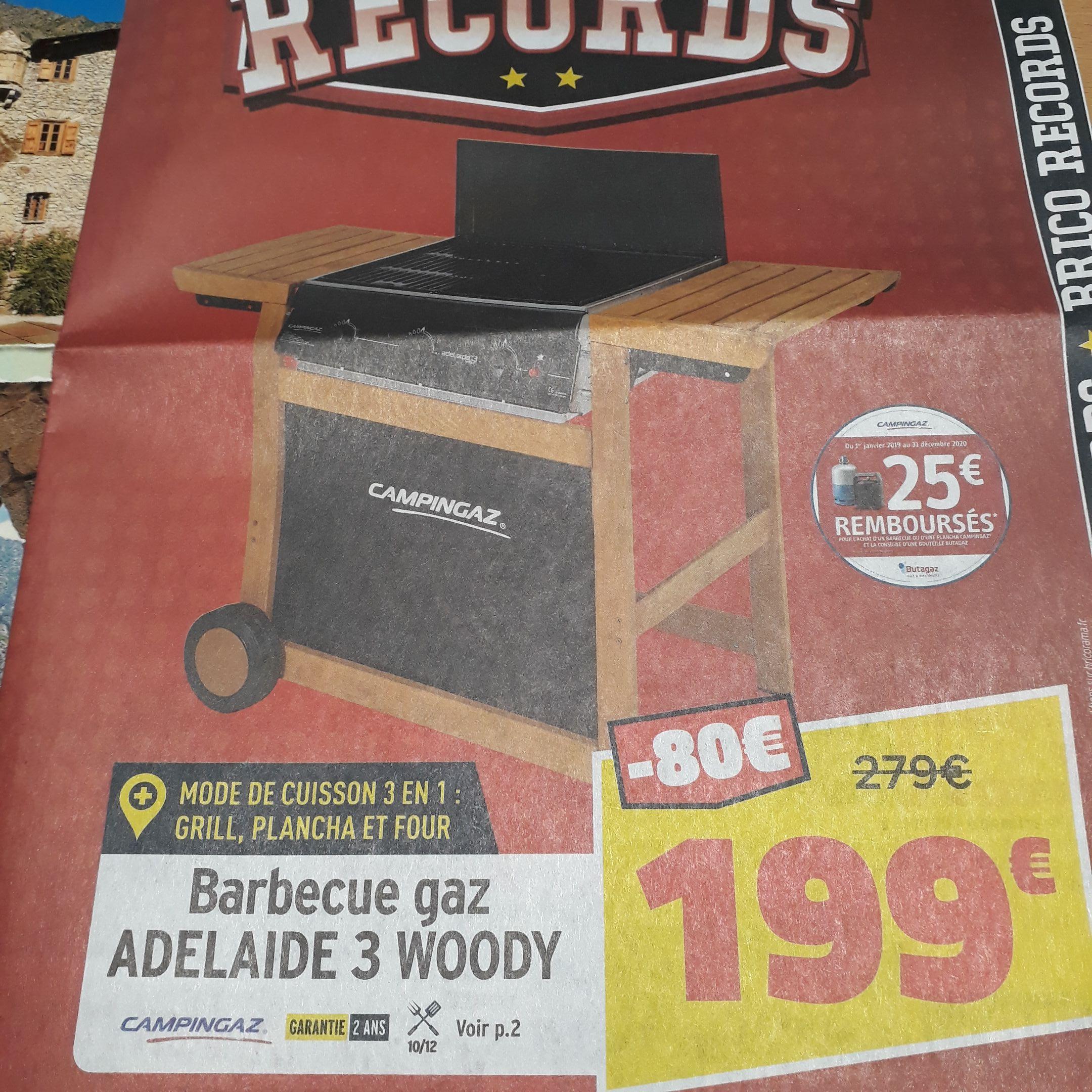 Barbecue Gaz Adélaïde 3 Woody