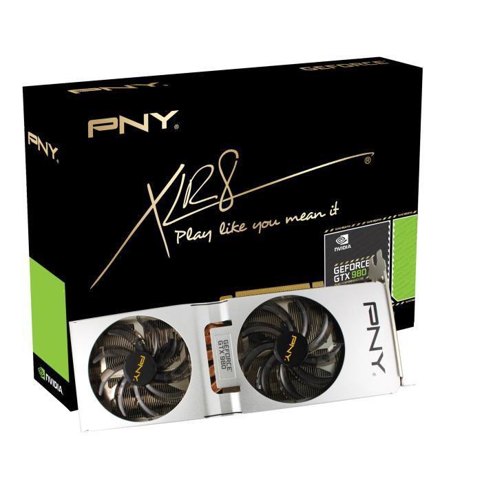 Carte graphique PNY GeForce GTX 980 XLR8 OC2 - 4 Go