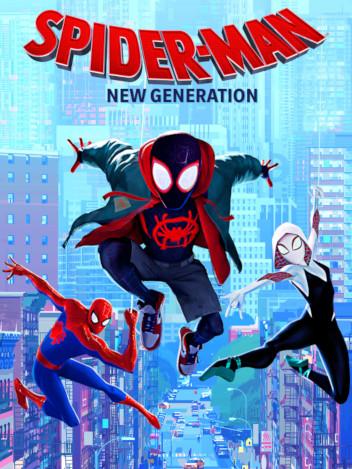 Film Spider-Man New Generation - Orange VOD