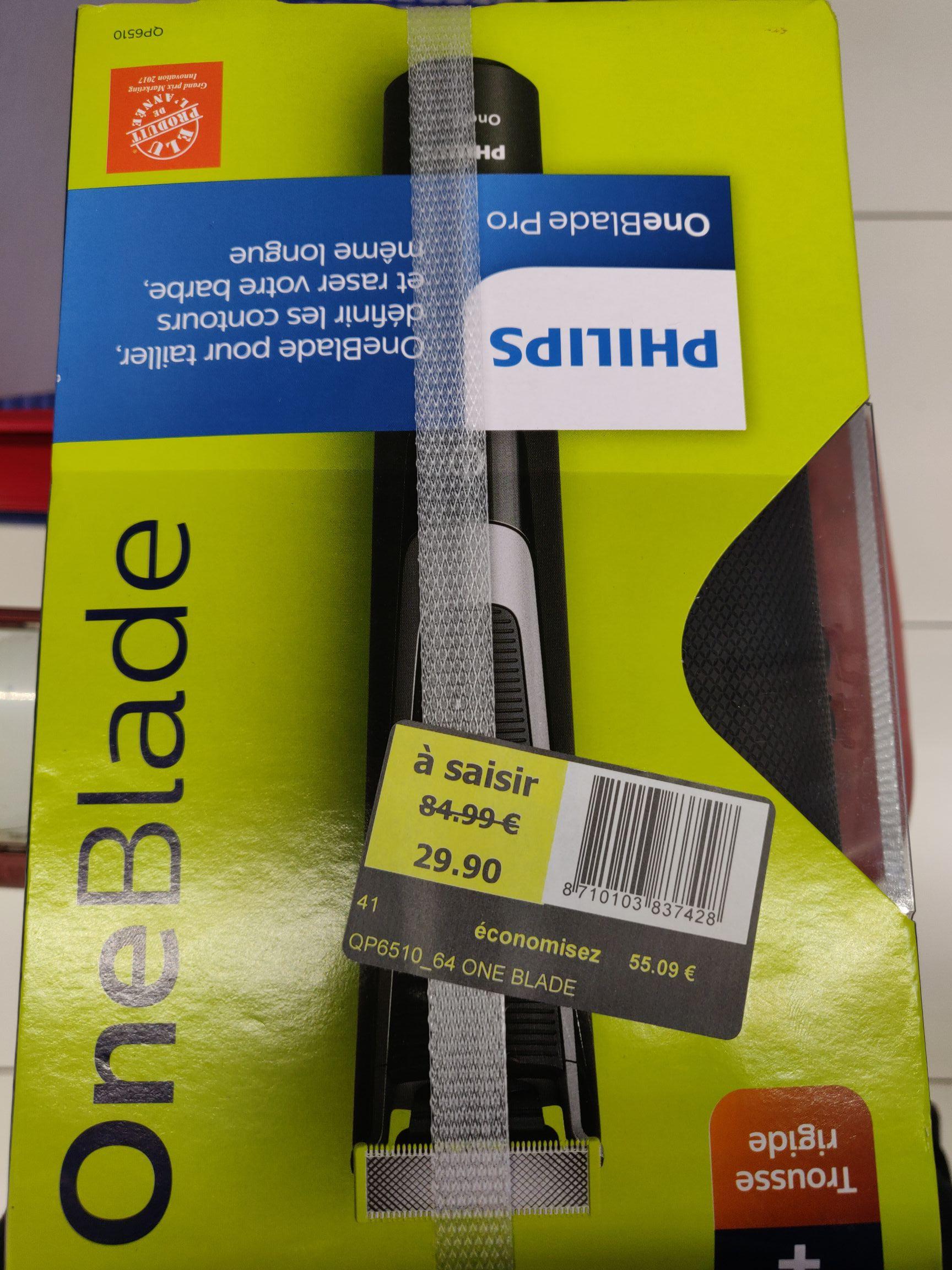 Tondeuse Philips OneBlade Pro QP6510 (Portet-sur-Garonne 31)