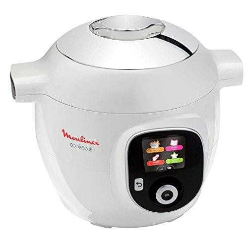 Multicuiseur Moulinex Cookeo+ (CE851100) - 6 L, 150 recettes programmées, 1600 W