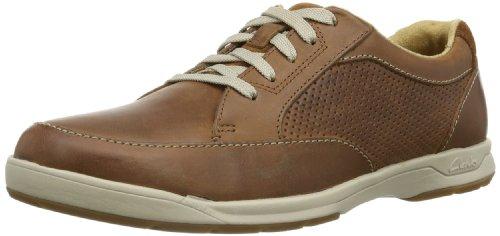 Chaussures Clarks Stafford Park 5 - bleu ou marron (du 41 au 44)