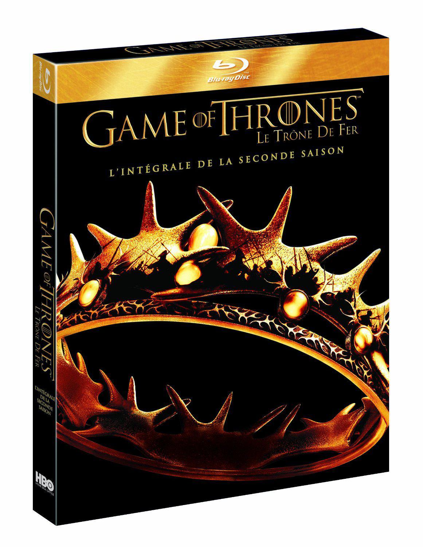 Sélection de coffrets Blu-ray / DVD de séries en promotion - Ex : Game Of Thrones (Le Trône de Fer) - Saison 2 en Blu-ray