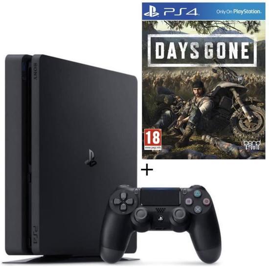 Sélection de Packs Console Sony PS4 Slim - 500 Go - Ex : Pack PS4 500 Go Noire + Days Gone