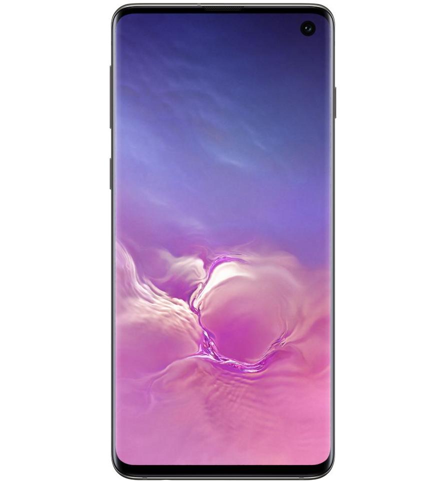 """Smartphone 6.1"""" Samsung Galaxy S10 - Double SIM, 128 Go (via ODR de 100€ + Reprise de 100€)"""