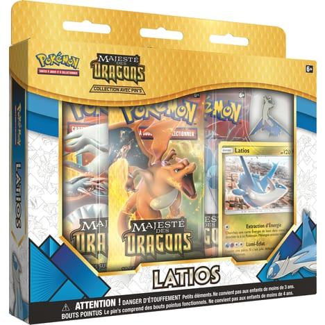 Coffret 3 boosters Pokemon (Via 4.24€ sur la Carte Fidélité)