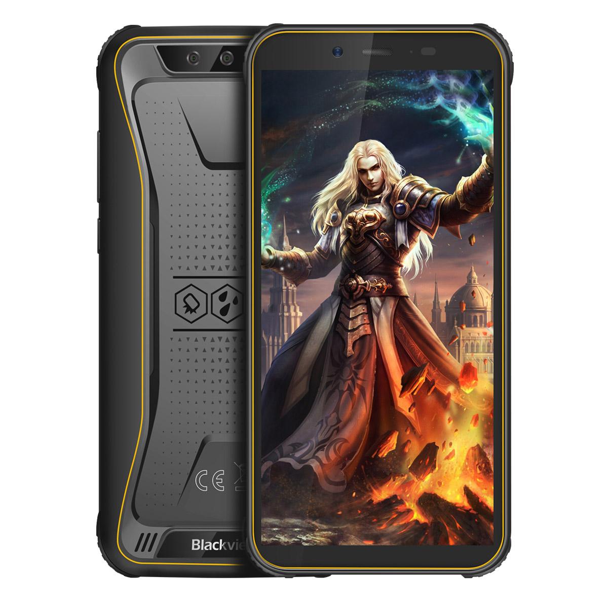 "Smartphone 5.5"" Blackview BV5500 Pro - HD+, MT6739, 3 Go de RAM, 16 Go, étanche IP68 / IP69K (Blackview.hk)"