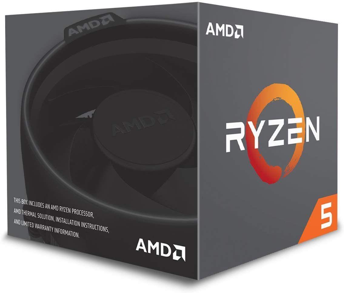 Processeur AMD Ryzen 5 2600 - socket AM4, 3.4 GHz