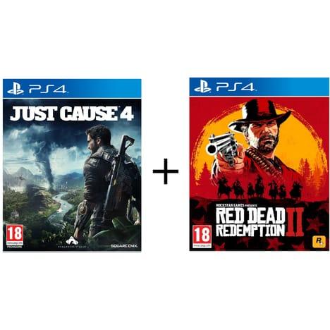 Jeux Red Dead redemption 2 +  Just cause 4 sur Xbox One ou PS4