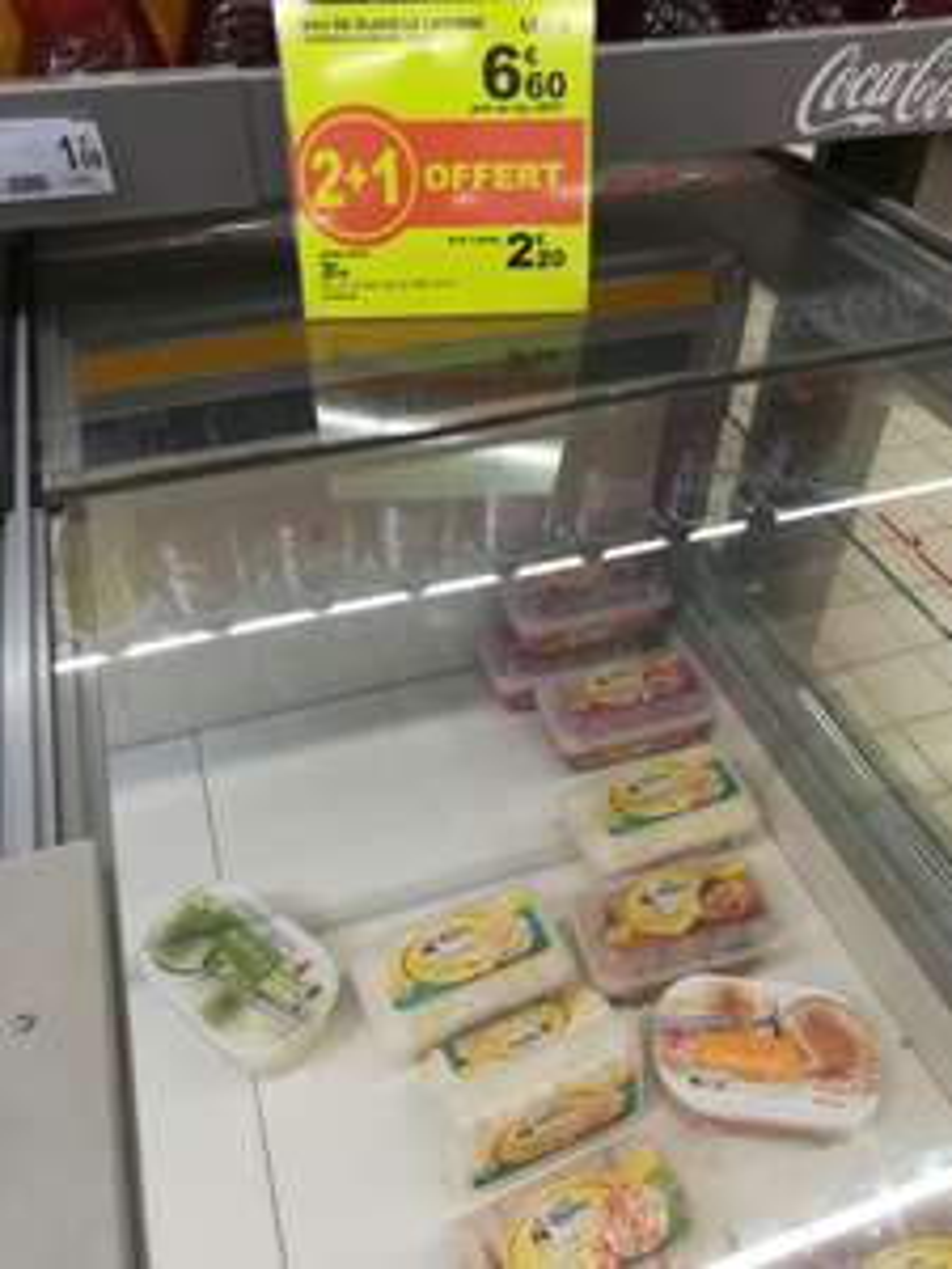 3 Bacs de glace la laitière (via 2€ Shopmium) - Auchan Leers (59)