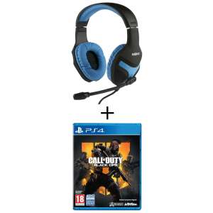 Call of Duty Black Ops IIII sur PS4 + Casque-Micro Konix gaming