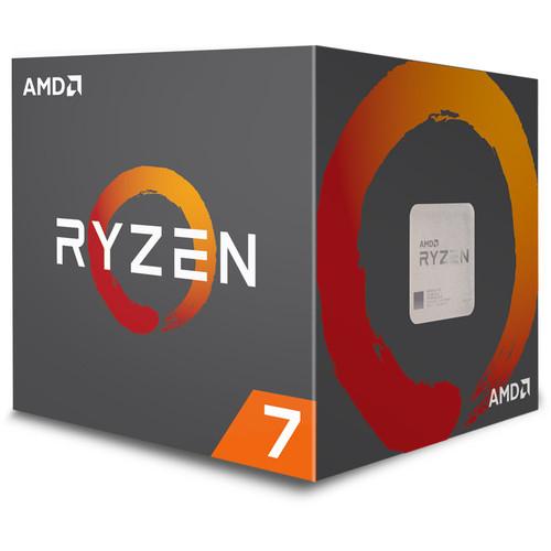 Processeur AMD Ryzen 7 2700 - 3,2 GHz + 2 jeux offerts (Dématérialisé - 219,36€ avec le code SNAP)