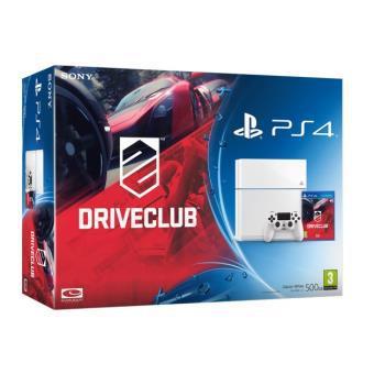 [Adhérents] Console Sony PS4 500 Go Blanche + Driveclub - Reconditionée (Garantie 3 mois)