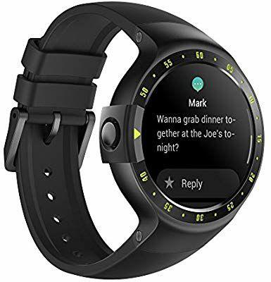 Montre Connectée Ticwatch S Knight - Bluetooth + Chargeur (Vendeur tiers)