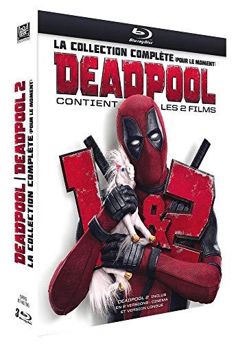 Coffret Blu-Ray Deadpool La Collection Complète - Deadpool + Deadpool 2