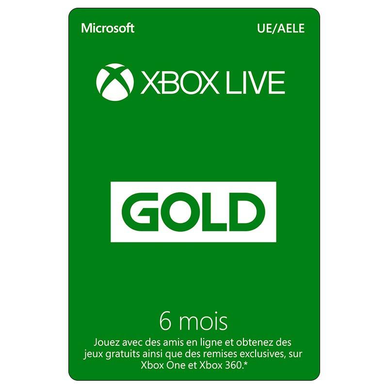 Abonnement de 6 Mois au Xbox Live Gold + Apex 1000 Coins (Dématérialisé)