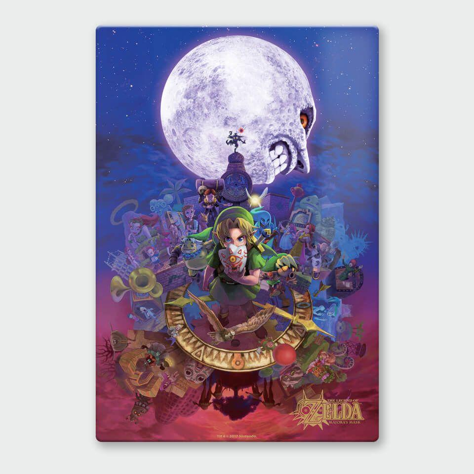 30% de réduction sur une selection d'affiches Nintendo - Ex : affiche en métal Legend of Zelda Majoras Lune Masquée