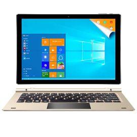 "Tablette tactile 10.1"" Teclast Tbook 10S - Z8350, 4 Go de RAM, 64 Go, Android 5.1 + Windows 10, or"