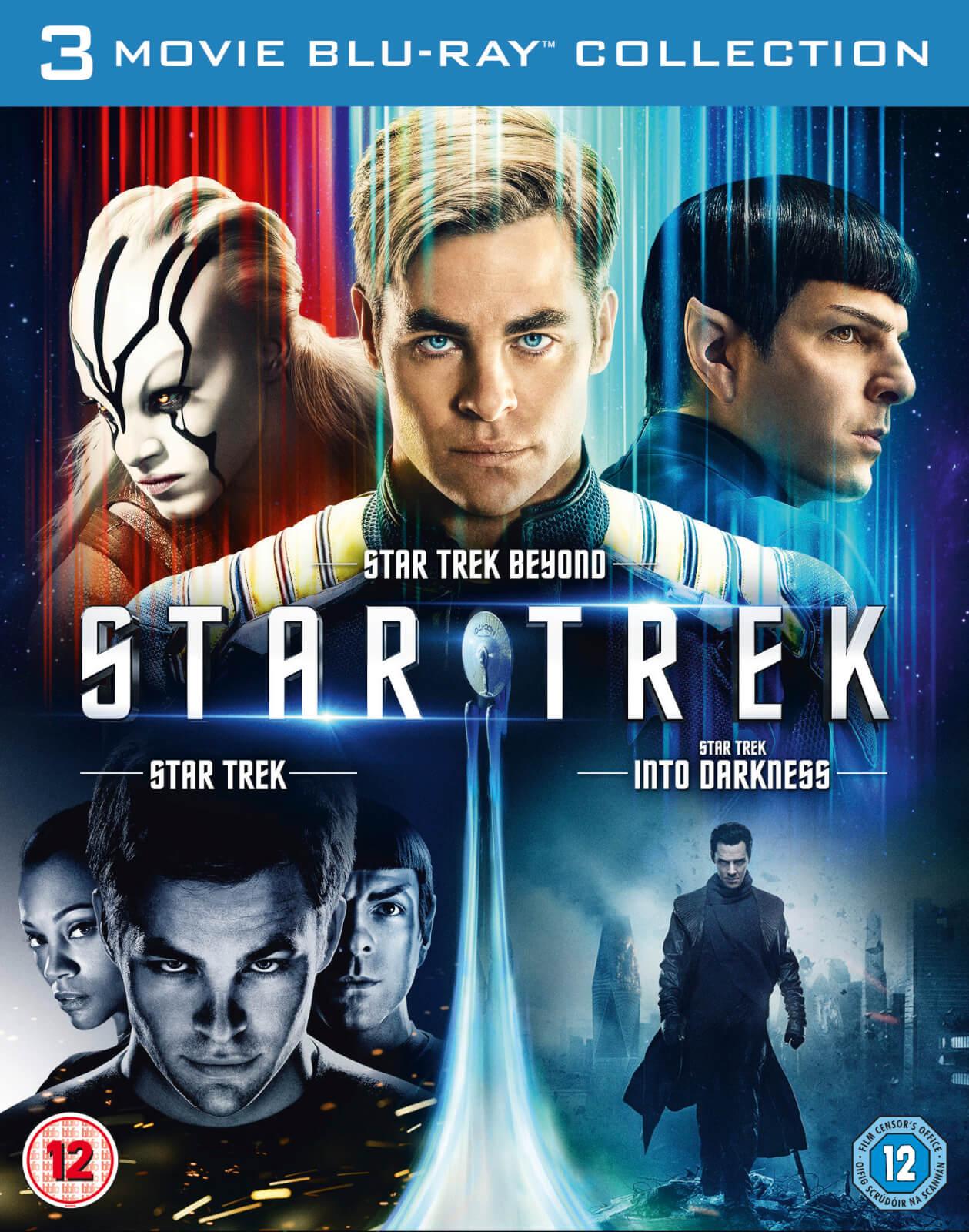 Sélection de Coffrets Blu-ray en promotion - Ex : Star Trek 1-3
