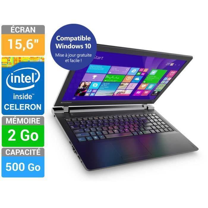 PC Portable Lenovo IdeaPad 100-15 (ODR de 50€)