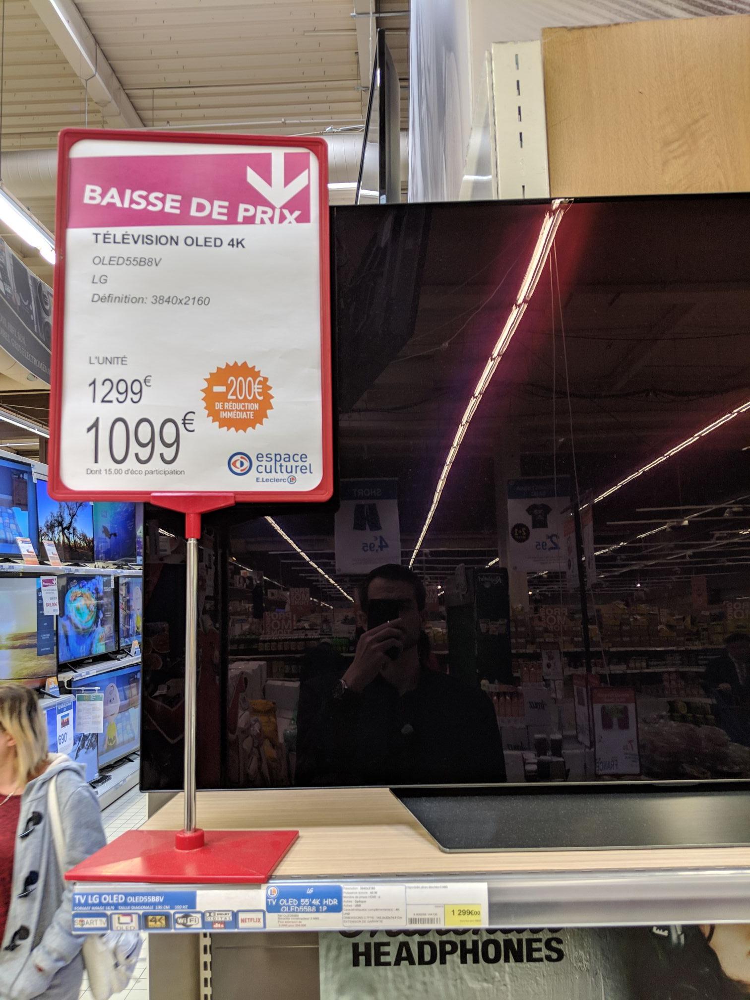 "TV 55"" LG OLED 55B8 (4K UHD) - Dammarie les lys (77)"